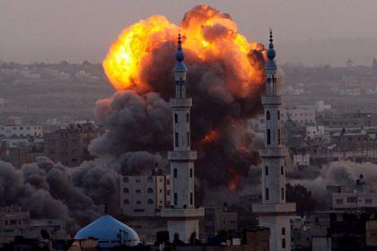 gaza-esplosioni