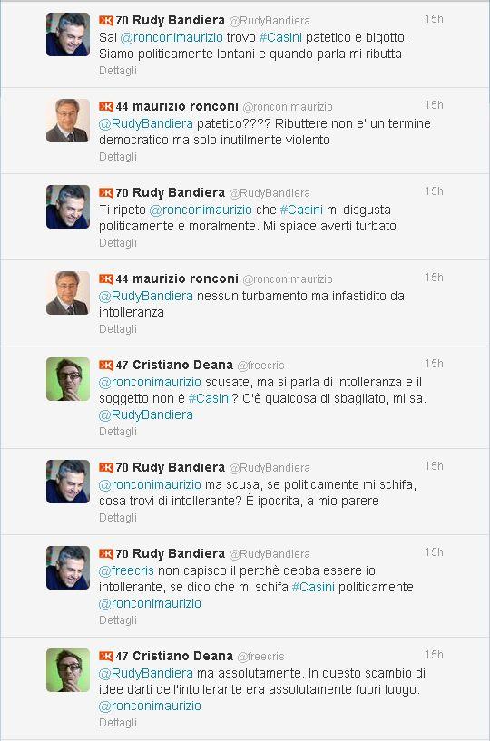 Twitter _ ronconimaurizio_ @RudyBandiera
