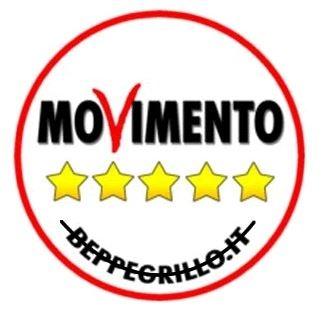 MOVIMENTO 5 STELLE_ Togliere la scritta beppegrillo.it dal logo polit