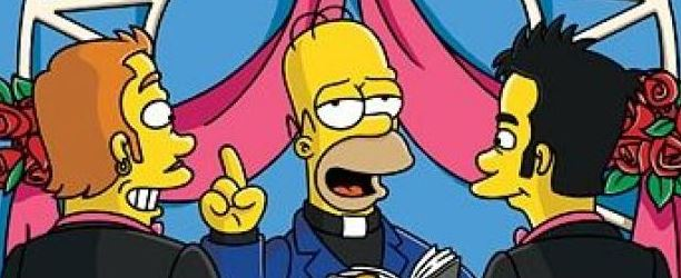 matrimonio gay simpson omofobia