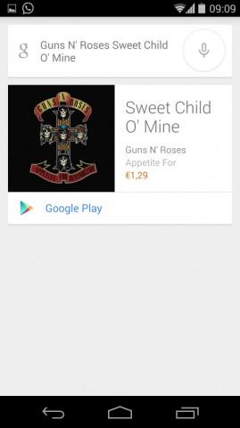 musica 2 google now ok google