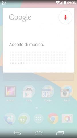 musica google now ok google