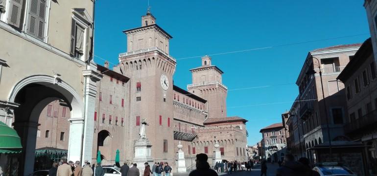castello estense ferrara rudy bandiera