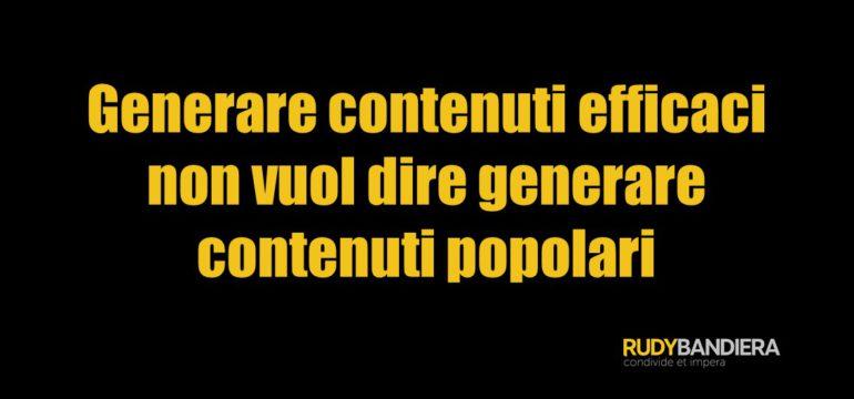 generare contenuti efficaci