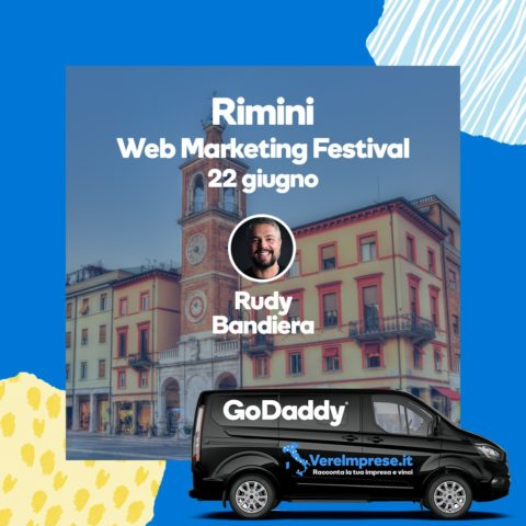 rudy bandiera godaddy rimini web marketing festival