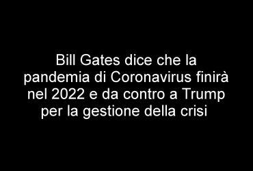 gates pandemia 2022