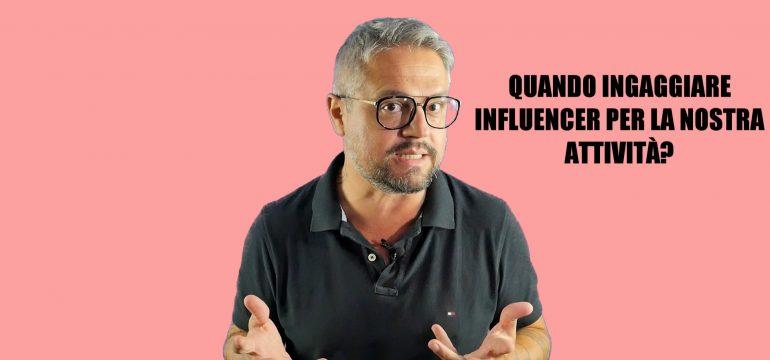 INGAGGIARE INFLUENCER