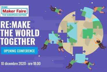 maker faire roma 2020 rudy bandiera