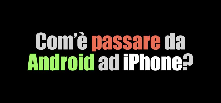 differenze iphone android